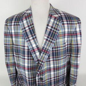 Coconut Grove 48L 2 Button Cotton Sport Coat